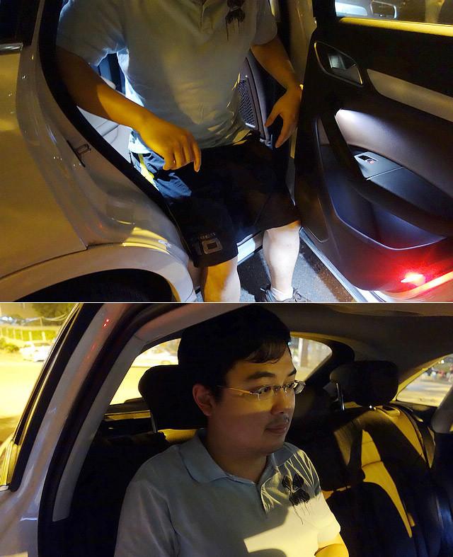 参与体验的车主Enzo会认为车辆的后门比较短小,使得后排乘客在上下车时比较不便。同时,倾斜的C柱位置较为靠前,也让后排乘客在上下车的过程当中,头部容易碰到C柱。