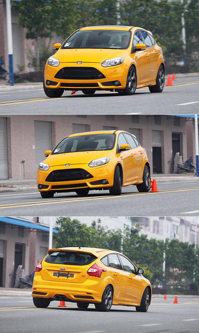 ST在原始状态下的悬挂调教就已经要比GTI更为激进,实际驾驶过程当中,悬挂系统对车身侧倾的支撑固然十分足够,但经由悬挂系统传导进入车厢当中的细碎路面震动也明显要比原装的GTI更为明显。