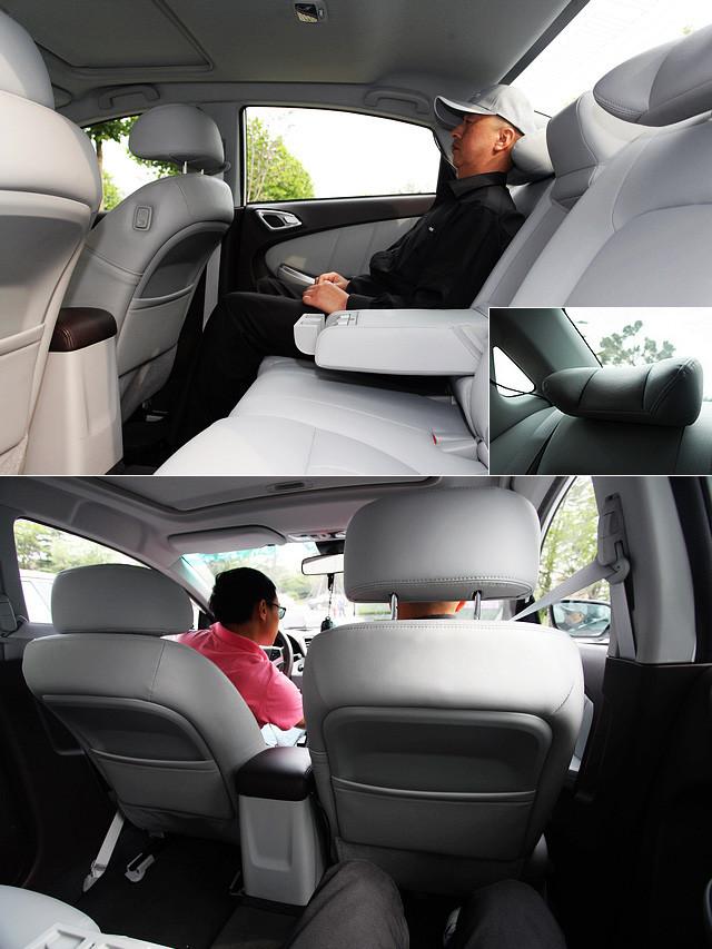 2,720mm的轴距在同级别车型当中可谓首屈一指,而在设计过程中,厂方也可以将A柱前移、C柱后移,以空间极大化,轨迹极小化的理念来进行整车的设计,这使得纳智捷5的车内空间、特别是后排的腿部和头部空间都没有太多可以挑剔的地方。