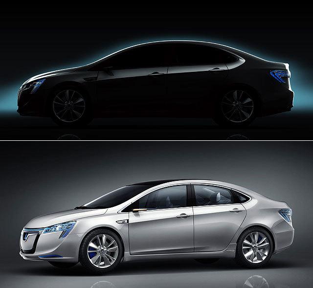 纳智捷5 Sedan的设计概念最早呈现在世人面前应该要算是源于2011年上海车展上面世的Neora概念车,虽然纳智捷品牌当时在内地市场上仍默默无闻,但Neora概念车当时仍以纯电动力加上极富未来感的头尾灯组,引发众多关注。