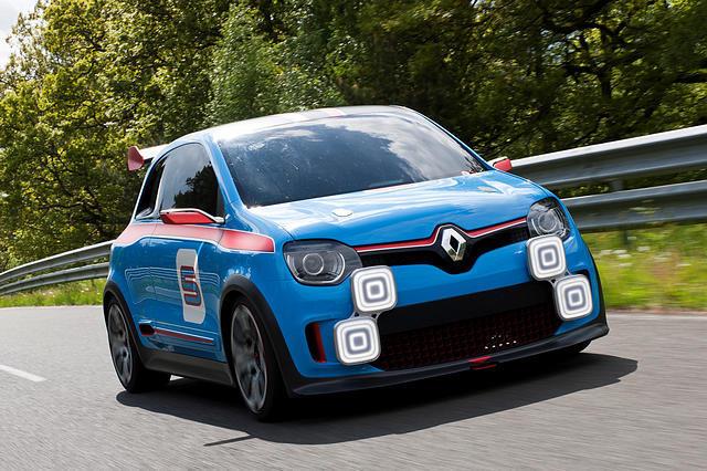 新一代Twingo参考了Twin'Run概念车的设计元素。