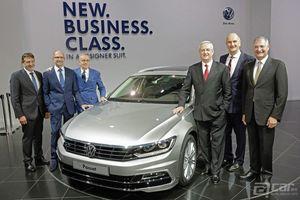 2015 Volkswagen Passat发布会现场及首批官图