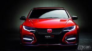 2014 Honda Civic Type-R概念车现场及官方混合图