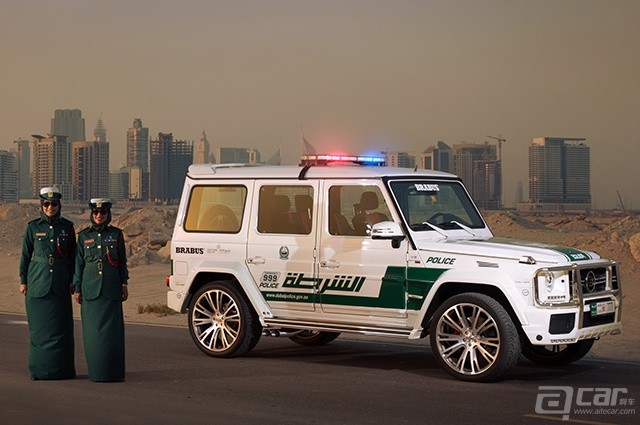 brabus-mercedes-benz-g63-amg-dubai-police-car-side-view