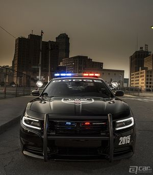 2015 Dodge Charger美国警方用车官图一捆