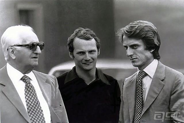 Enzo-Ferrari-with-Nikki-Lauda-and-Luca-id-Montezemolo_副本