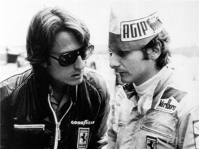 - Niki Lauda con Luca di Montezemolo