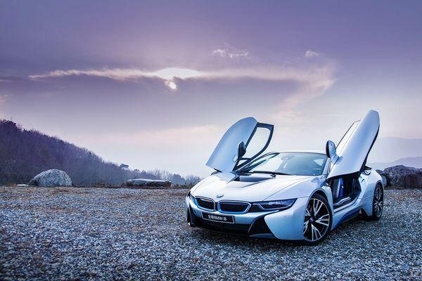 啊车网精美图集 BMW i8