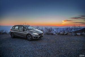 啊车网精美图集 BMW 2系运动旅行车