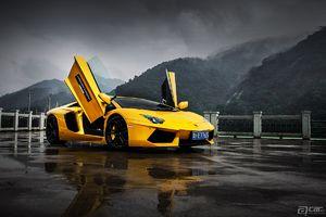 啊车网精美图集Lamborghini Aventador
