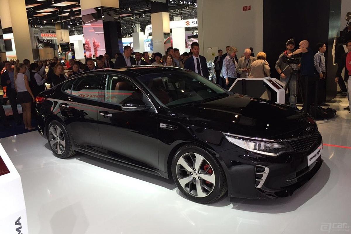 2015法兰克福车展:起亚全新K5 GT