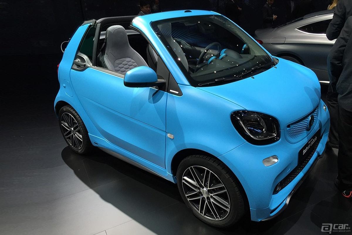 2015法兰克福车展:全新smart fortwo敞篷版