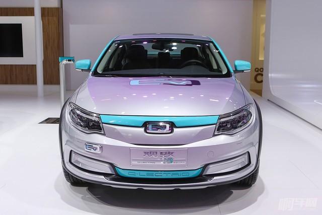 观致3-QLECTRIQ纯电动概念车