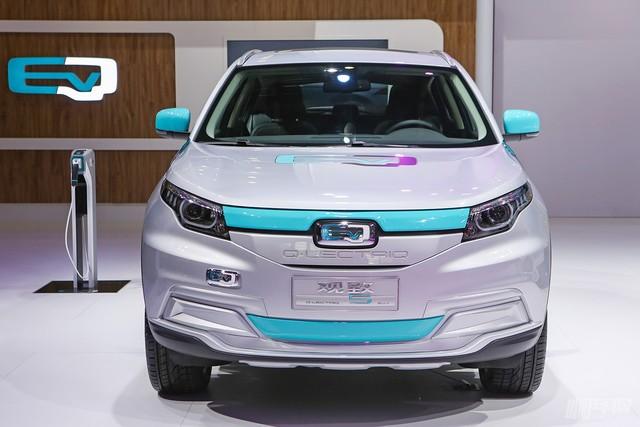 观致5 SUV QLECTRIQ纯电动概念车