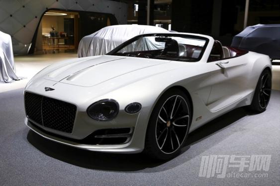 宾利EXP 12 Speed 6e纯电动概念车 灵魂源于设计