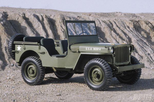 我们最早认识的吉普车,其实是在打仗的年代