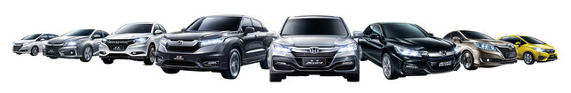 广汽本田旗下Honda品牌全车系图