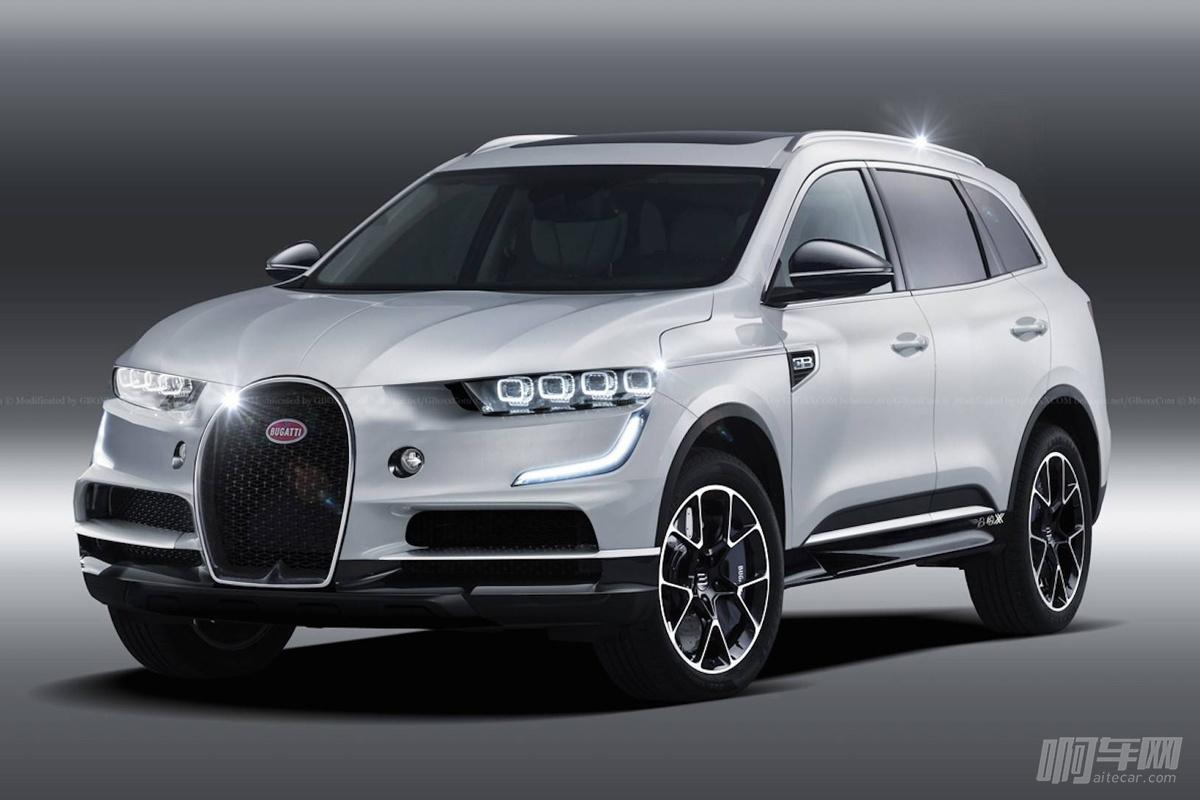 布加迪也要造SUV?看这假想图怎么那么面熟呢