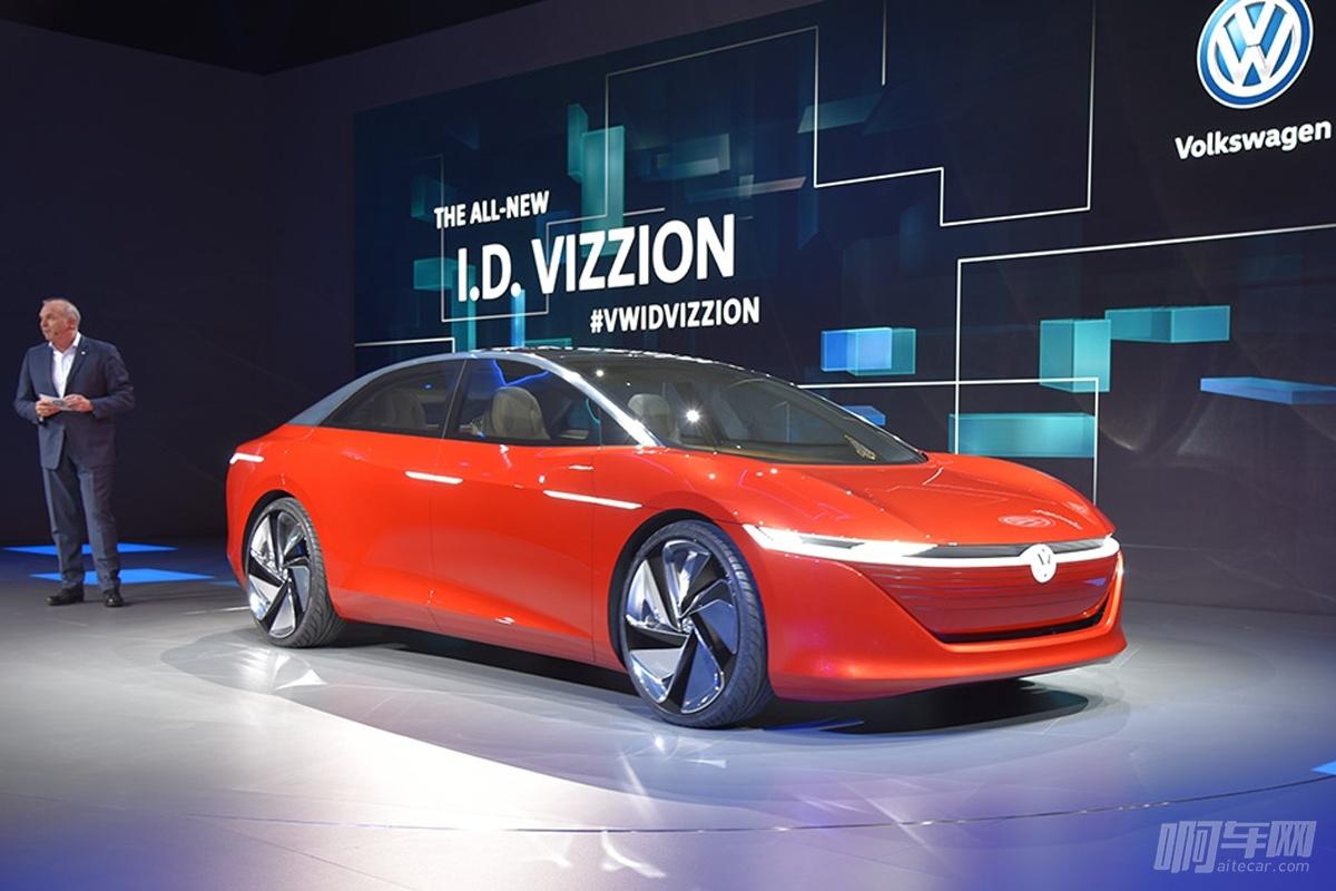 未来,大众纯电动豪华车要这样造,特斯拉你怕了没?