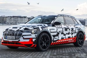 奥迪甩出王炸,首款纯电SUV的续航里程将超500公里