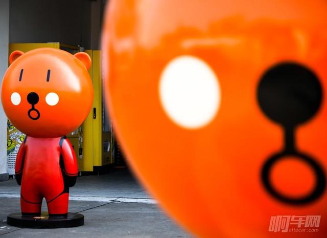 吉祥物-赛道英熊
