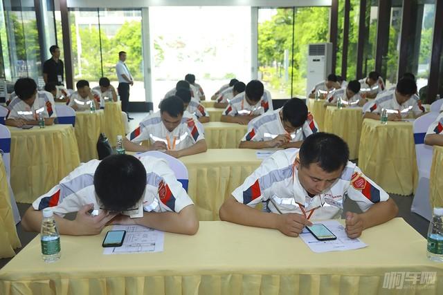 廣汽本田第十三屆售后服務技術技能競賽總決賽理論考試(2)