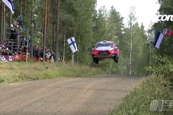 剛出爐的2019年WRC芬蘭站各種Jump鏡頭合集