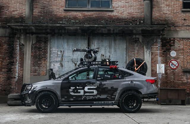 别克威朗Pro GS和平精英改装车以实力圈粉